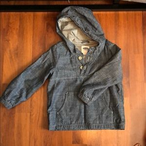 New without tags boys Old Navy denim hoodie